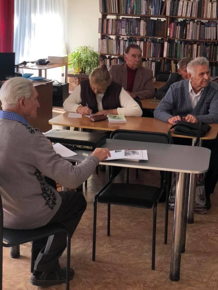 Чергова зустріч літературного клубу «Елінг»