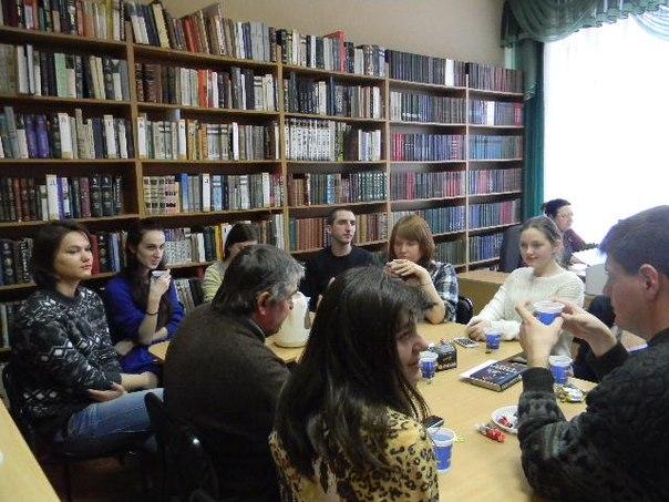 Засідання літературної студії «Блокнот»